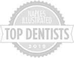 Naples Illustrated - Top Dentists 2019 badge